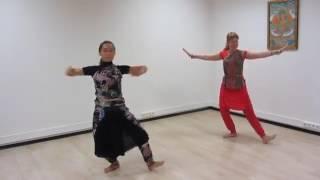 Индийский танец (стиль Бхаратанатьям)