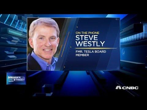 Former Tesla Board Member Steve Westly On The Company's Weak Earnings