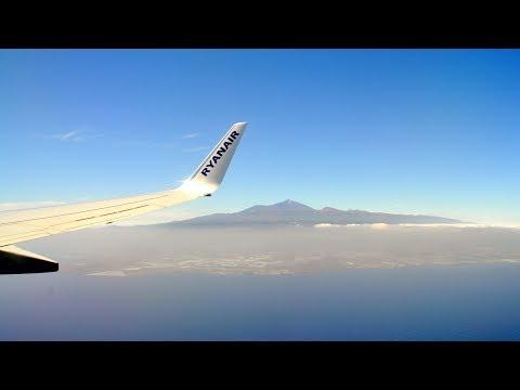Flight to Tenerife South (TFS) - Ryanair - Lot na Teneryfę z Modlina - Teneryfa z Warszawy - FR6121