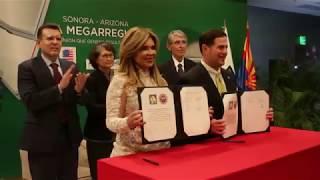 Relación Sonora-Arizona está mejor que nunca: Gobernadores Pavlovich y Ducey