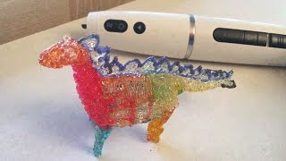 Polyes Q1 3D Printing Pen: Ink Colors + Good Dinosaur