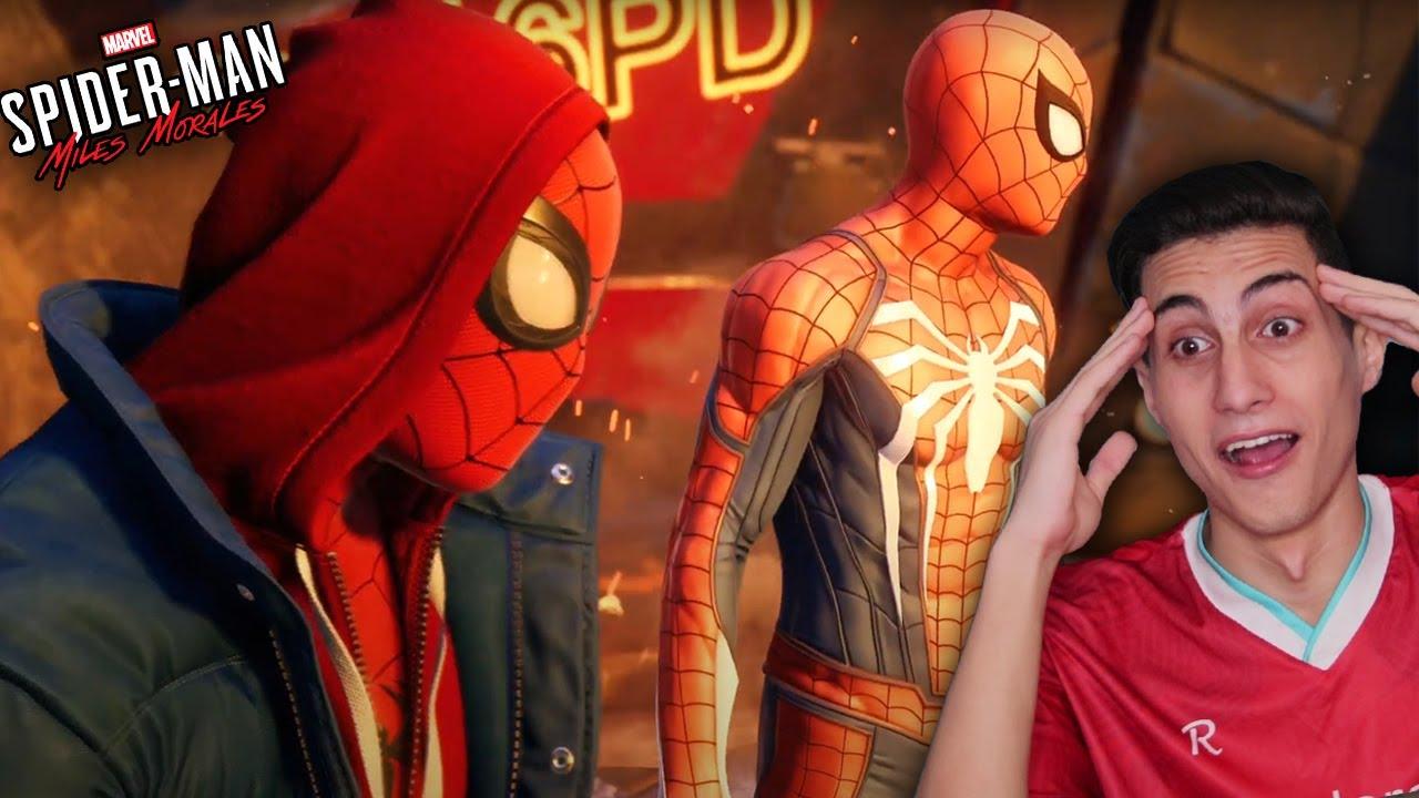 لعبة سبايدر مان الجديدة وبداية خارقة للعادة !!! Spider-Man: Miles Morales