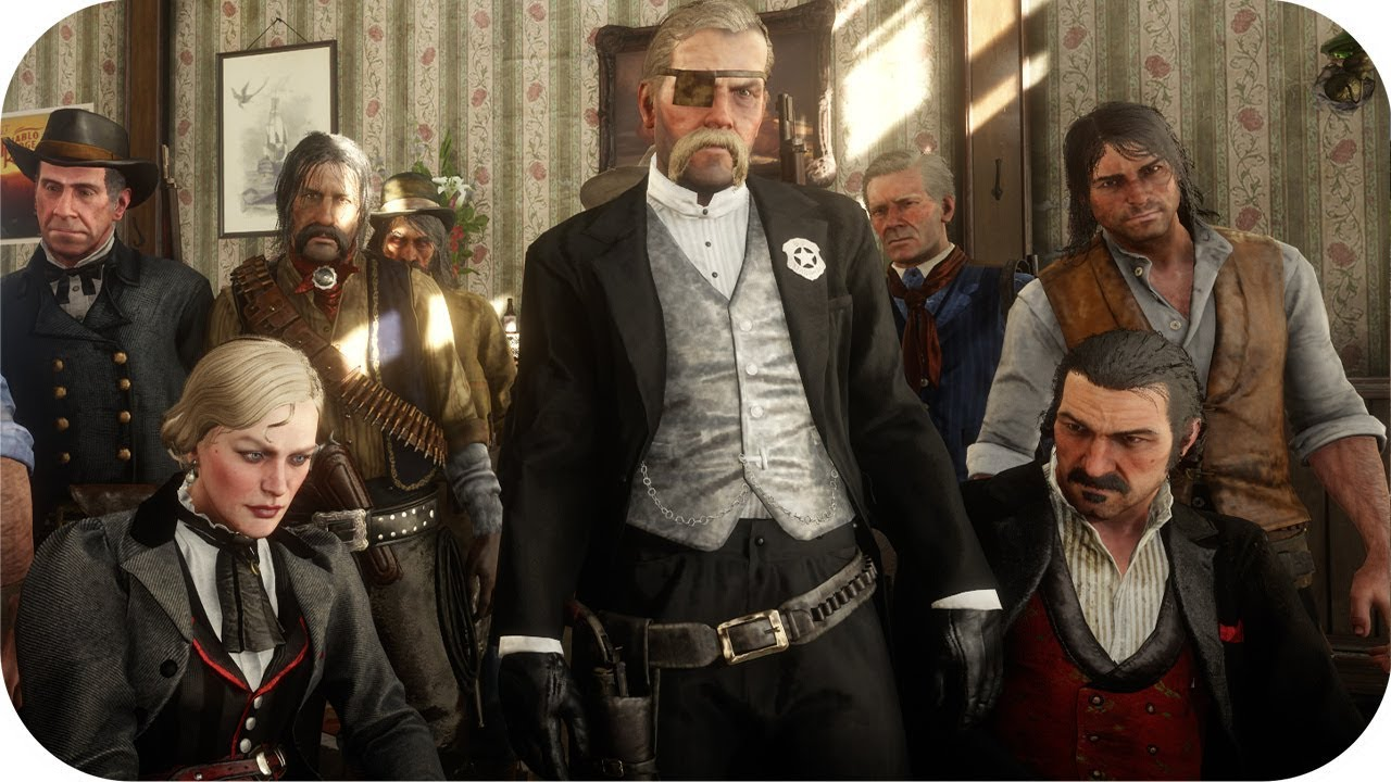 Download RDR2 Battle Royale 2 Saloon Fight Free For All Red Dead Redemption 2 NPC Fights