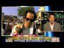 "Carlos Diaz from ""Extra"" on CNN's ""ShowBiz Tonight"" 3/5/08"