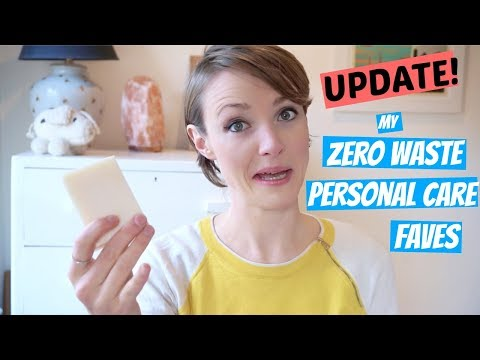 Zero Waste Personal Care Faves - AN UPDATE | Kate Arnell