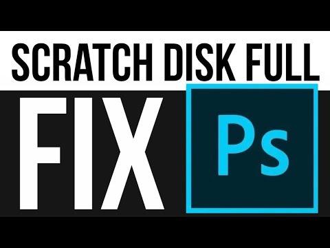 Photoshop: Scratch Disk Full - FIX | Mac