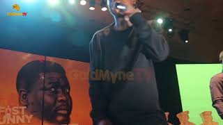 ZLATAN IBILES PERFORMANCE AT SEYI LAW FAST AND FUNNY BLACKER THAN EVER