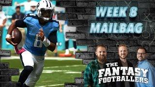 Fantasy Football 2016 - Week 8 Keep/Trade/Cut, Pump the Brakes & Mailbag - Ep. #294