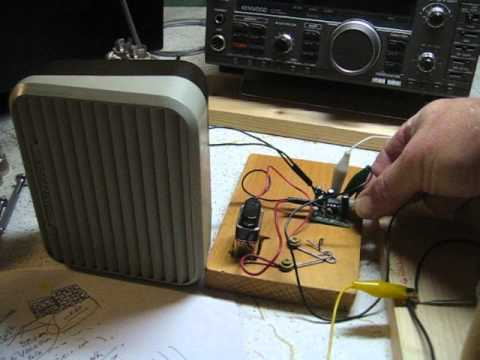 RADIO NETHERLANDS on a Simple Homemade Short Wave Receiver
