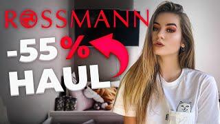 Haul z rossmanna -55% 2019