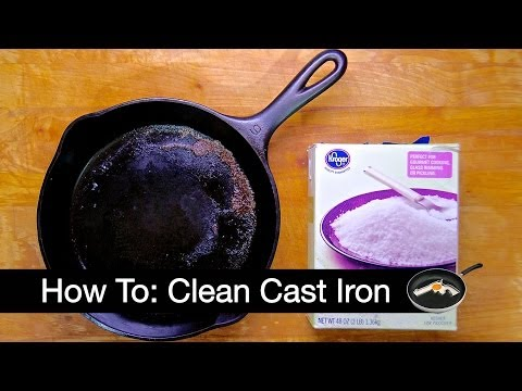 How to: Clean your Cast Iron Skillet