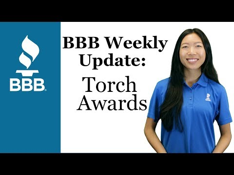 BBB Weekly Update E1: Torch Awards for Ethics