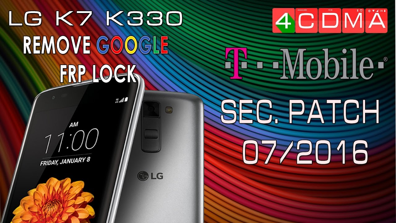 LG K7 K330 T-Mobile Google Account Bypass | Patch July 2016 | Android 5 1 1