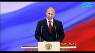ロシア大統領ウラジーミル・プーチン就任式。モスクワ