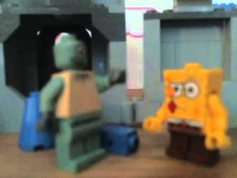 lego spongebob employee of the month