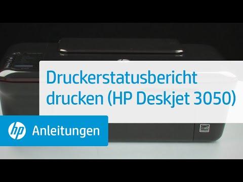 Druckerstatusbericht drucken (HP Deskjet 8)