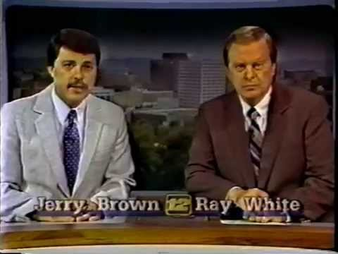 Chattanooga WDEF-TV 12 news intro, July 3, 1987