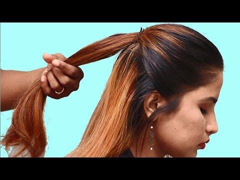 Trendy Party hairstyles for Medium hair || Easy Hairstyle for party/Function | Hair Style Girl thumbnail