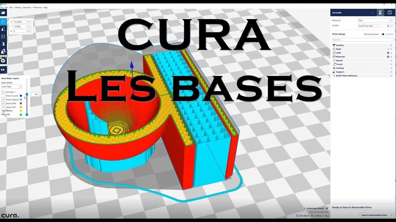 Impression 3D - Cura - les bases