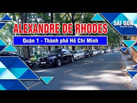 Đường ALEXANDRE DE RHODES    Quận 1    2019