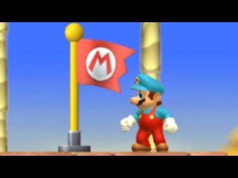 Another Super Mario Bros Wii Walkthrough - Part 2 - World 2