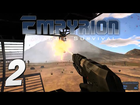 Empyrion: Galactic Survival Gameplay - #2 - Drone Attacks!