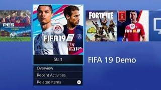 FIFA 19 - DEMO LIVE!