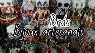 SHOPPING ALL BRÁS/Vlog pela loja de bijoux artesanais DANIELA ARTESANATOS+ Comprinhas