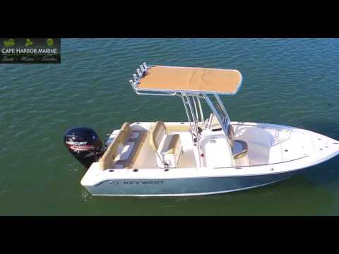 CAPE HARBOR MARINE KEY WEST BOATS 189FS DRONEONE