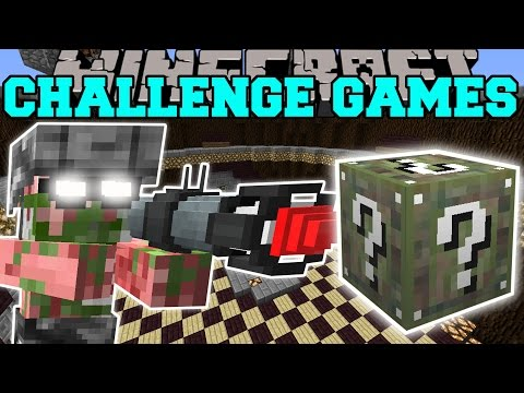 Minecraft: PIGMAN SOLDIER CHALLENGE GAMES - Lucky Block Mod - Modded Mini-Game
