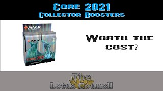 Core 2021 Collector Boosters are packed with value!
