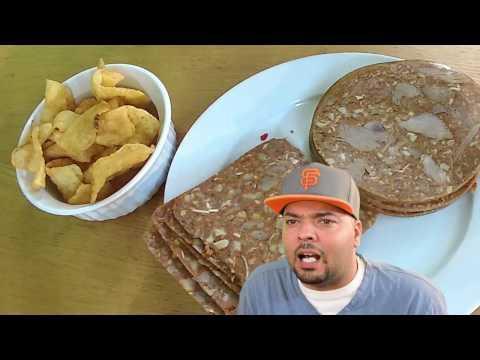 Eating Hog Head Cheese! What Does It Taste Like?