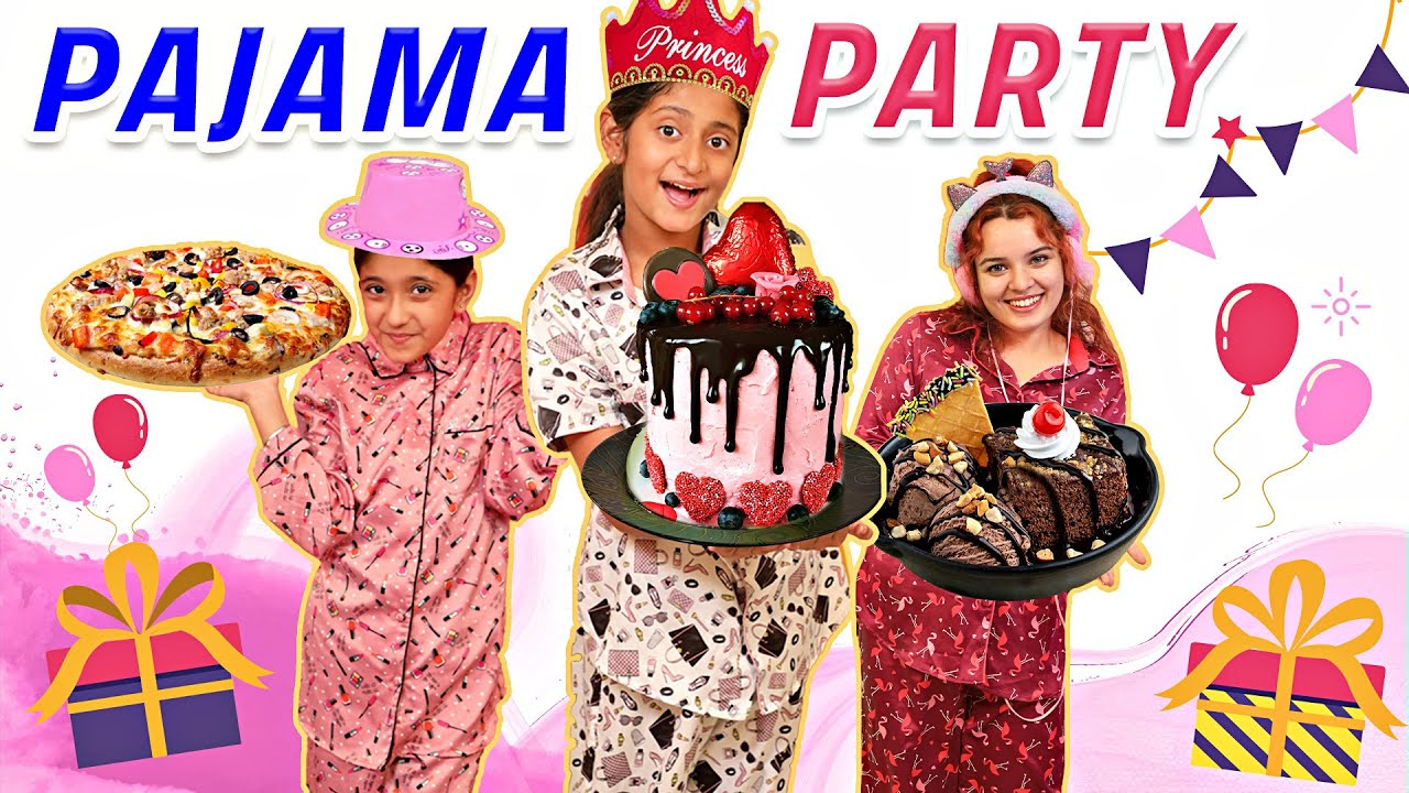 Pajama Party - DIY Decoration and Games With Friends | MyMissAnand