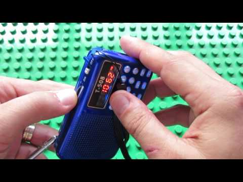 Unboxing T-508 FM Radio Portable Mini Speaker