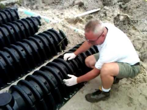 Drainfield Chamber System Install By Master Plumbers Youtube