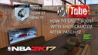 how to speed boost with shot creator after patch 12 cbinhd presents scacademy elite shot creator