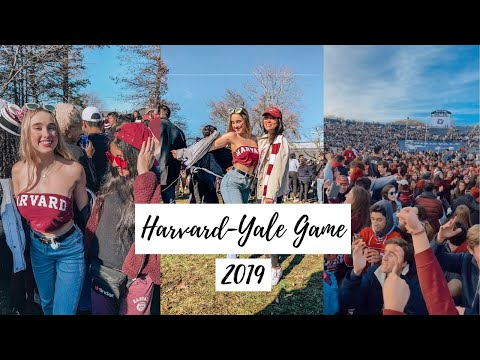 Harvard-Yale Game 2019 & The Climate Change Protest