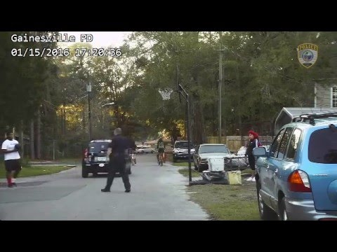 Tim Palmer - Florida Cop Receives Complaint Of Kids Playing Basketball In Street