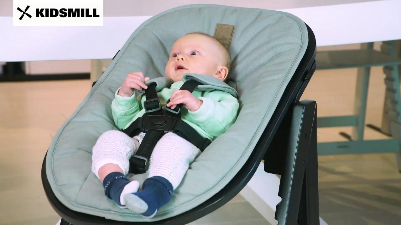 Hochstuhl Mit Babyaufsatz ~ Hochstuhl kidsmill up! youtube
