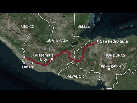 US-bound migrant caravan