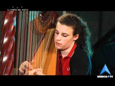 La Camera della Musica  Francesca Virgilio Arpa 3° parte.Hasselmans Gitana - Renìe Lègende