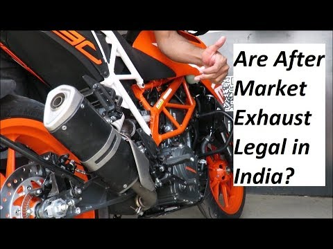 Are After Market Exhaust Legal in India? Explained.