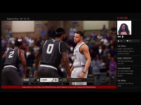NBA LIVE 18 DEMO POST E3 2017 RED THOUGHTS