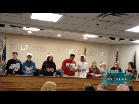 Harold L  Richards High School Honors Choir Village Hall Performance
