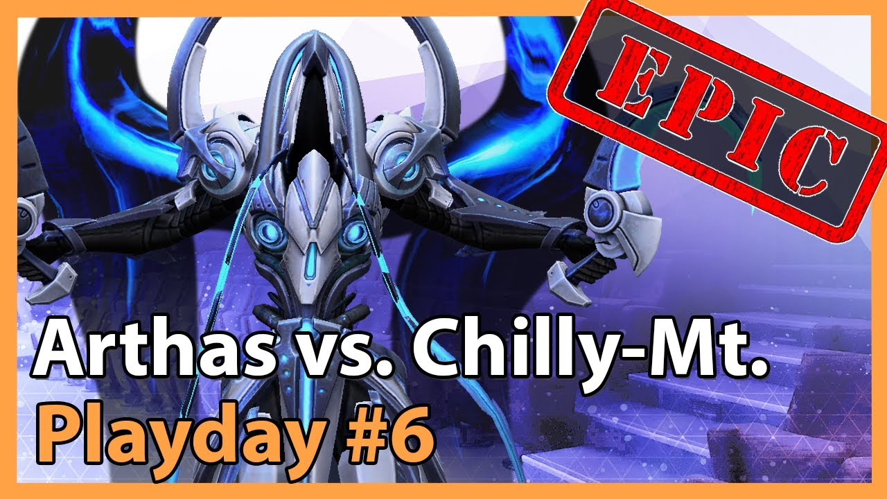 Arthas vs. Chilly Mountain - MC - Heroes of the Storm 2021