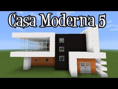 Casa moderna page 2 vids seo for Casa moderna minecraft tutorial