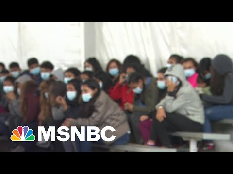 Government Allows Cameras Inside Donna, Texas CBP Facility For First Time   MTP Daily   MSNBC
