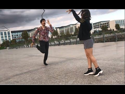 Девушка Танцует Просто Ахх Красиво В Баку Лезгинка 2020 Lezginka ALISHKA NELYA ELXAN