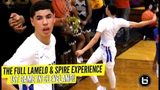 LaMelo Ball 1st Game In Cleveland The FULL GAME Experience!