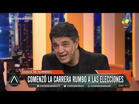 Jorge Macri en la mesa de Animales Sueltos